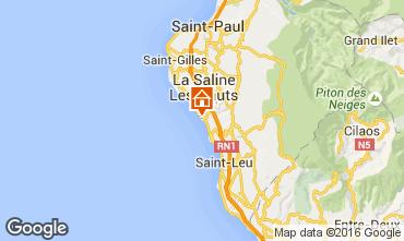 Kaart La Saline les Bains Villa 102826