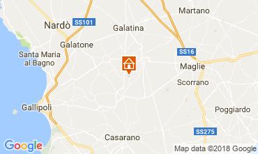 Kaart Casarano Villa 113763