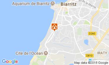 Kaart Biarritz Appartement 112856