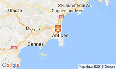 Kaart Antibes Appartement 106323