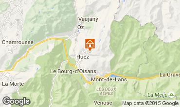 Kaart Alpe d'Huez Appartement 40228