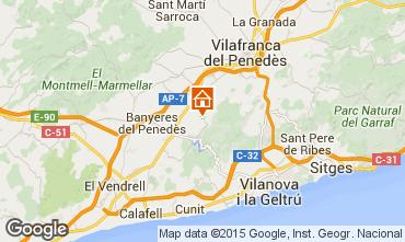 Kaart Sitges Villa 72356