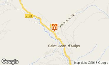 Kaart Saint Jean d'Aulps- La Grande Terche Chalet 27503