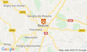 Kaart Beaune Appartement 116813