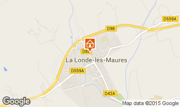Kaart La Londe les Maures Appartement 63319