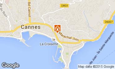 Kaart Cannes Appartement 92869