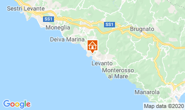 Kaart Bonassola Appartement 107580