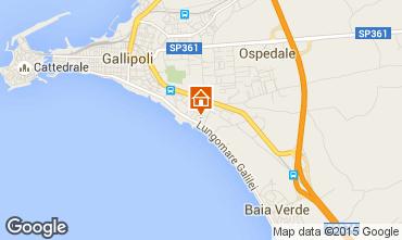 Kaart Gallipoli Appartement 85068