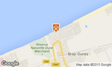 Kaart Bray-Dunes Appartement 97746
