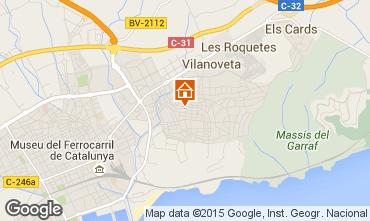 Kaart Barcelona Appartement 43811