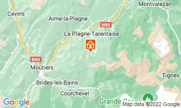 Kaart La Plagne Appartement 77055