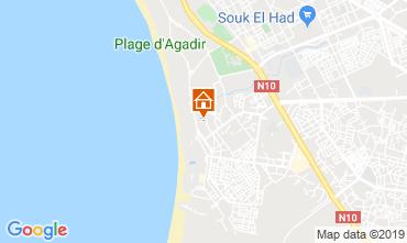 Kaart Agadir Appartement 76325