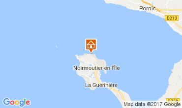 Kaart Noirmoutier en l'Île Huis 111693