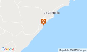 Kaart Isola di Capo Rizzuto Huis 111306