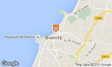 Kaart Biarritz Studio 50968