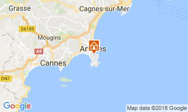 Kaart Antibes Appartement 114761