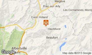 Kaart Les Saisies Appartement 2711