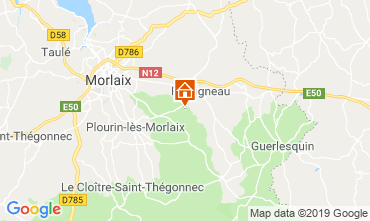 Kaart Morlaix Vakantiehuis 118940