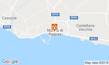 Kaart Marina di Ragusa Appartement 119624