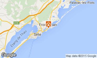 Kaart Frontignan Villa 78184