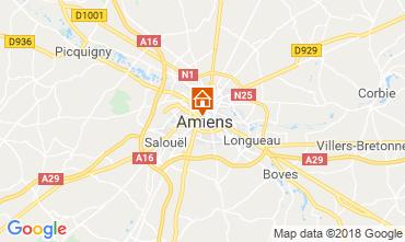 Kaart Amiens Appartement 117425