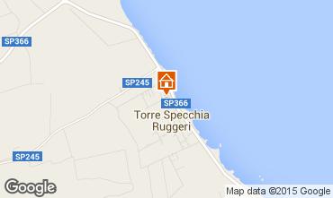 Kaart San Foca Villa 78071