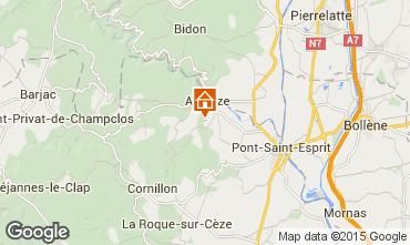 Kaart Saint-Julien-de-Peyrolas Villa 100704