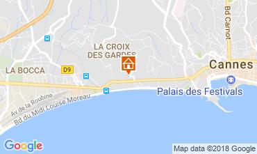 Kaart Cannes Appartement 114426
