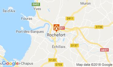 Kaart Rochefort sur Mer Studio 113405