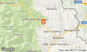 Kaart Serre Chevalier Chalet 14631