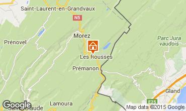 Kaart Les Rousses Studio 14776