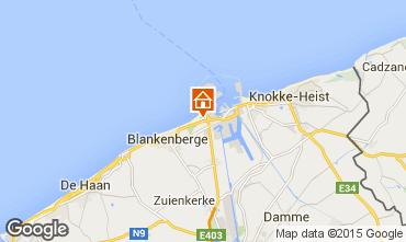 Kaart Brugge Appartement 100264