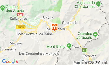Kaart Les Houches Studio 49738