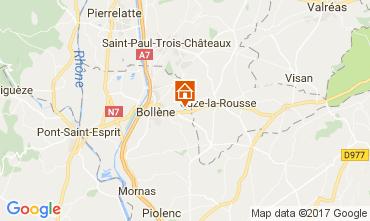 Kaart Bollène Huis 101053