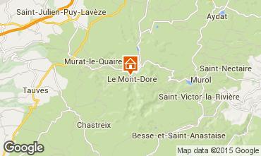 Kaart Le Mont Dore Appartement 91221
