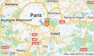 Kaart PARIJS Appartement 13776