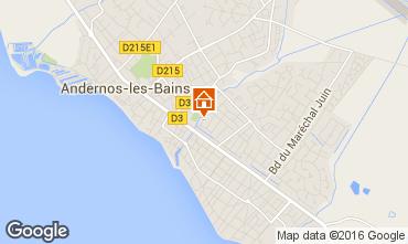 Kaart Andernos les Bains Huis 82364