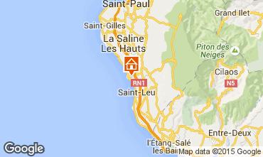 Kaart Saint Leu Studio 9988