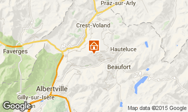 Kaart Les Saisies Appartement 27570