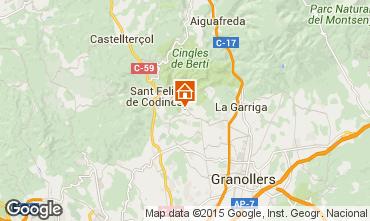 Kaart Barcelona Vakantiehuis 100163
