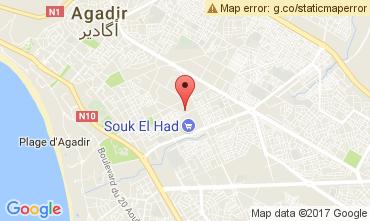 Kaart Agadir Appartement 112274