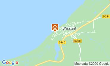 Kaart Wissant Villa 106031