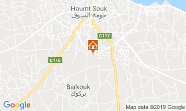 Kaart Djerba Villa 117770