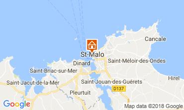 Kaart Saint Malo Appartement 19262