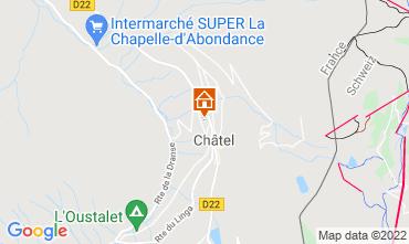 Kaart Châtel Chalet 40517