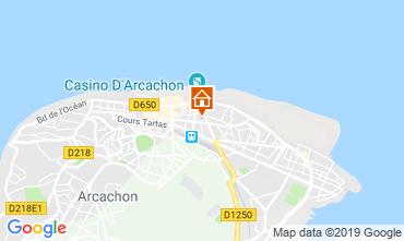 Kaart Arcachon Appartement 117921