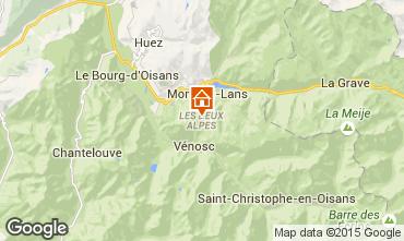 Kaart Les 2 Alpes Studio 91147