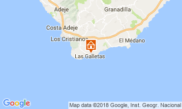 Kaart Costa del Silencio Studio 107405