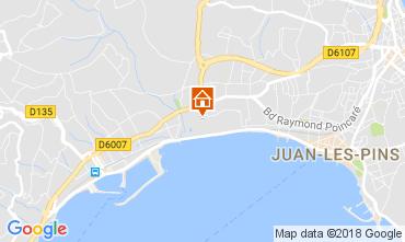 Kaart Juan les Pins Appartement 113215