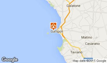 Kaart Gallipoli Appartement 35841